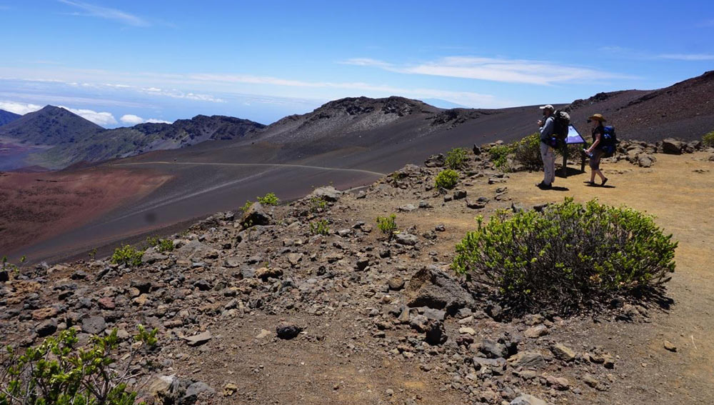 HIKING HALEAKALĀ CRATER