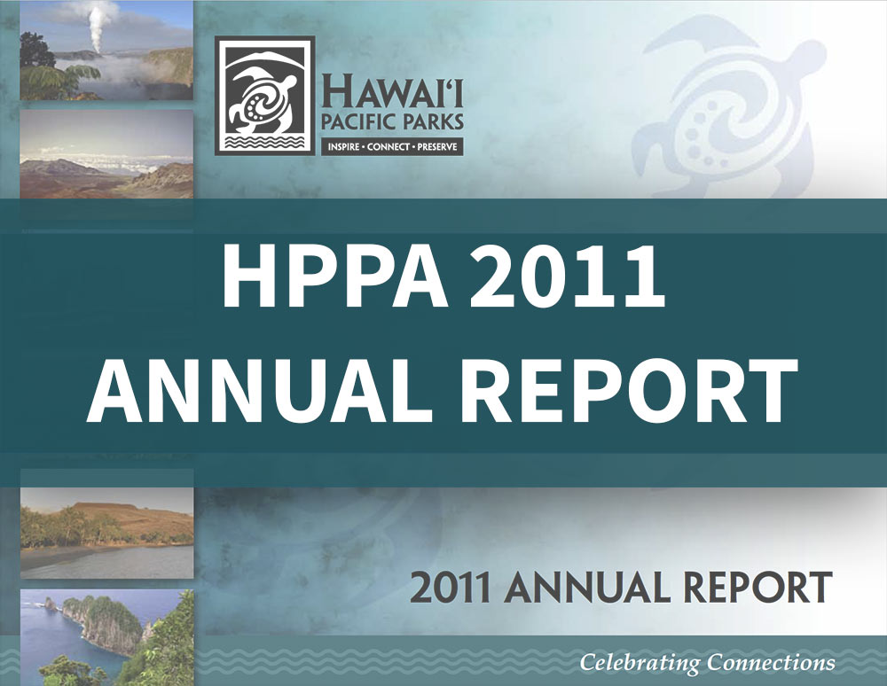 Hawaiʻi Pacific Parks Association 2011 Impact Report